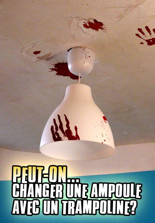 Changer une ampoule...